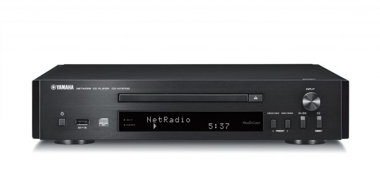 Hifis.be YAMAHA COMPACT DISC PLAYER CD-NT670D BLACK