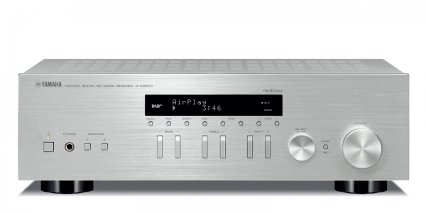Yamaha R-N303D SILVER versterker receiver