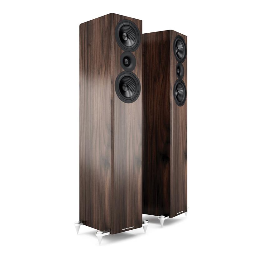 AE509 Walnut luidsprekers
