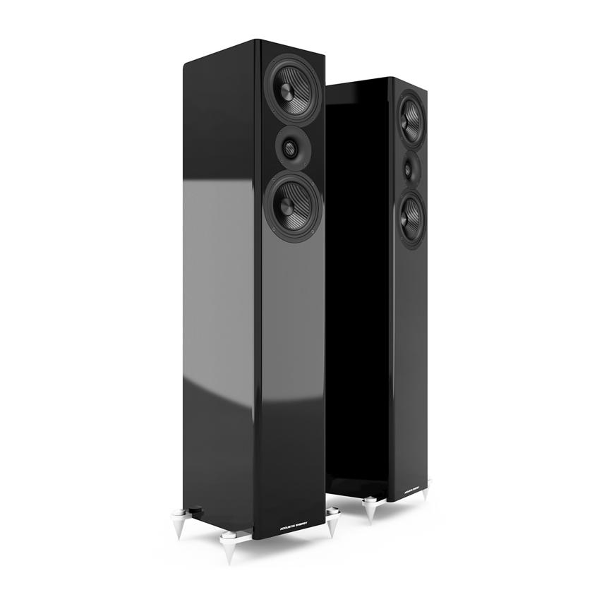 AE509 zwart luidsprekers